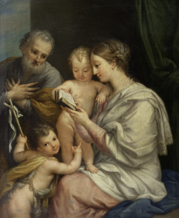 The Holy Family with the Infant John the Baptist (after Maratta)