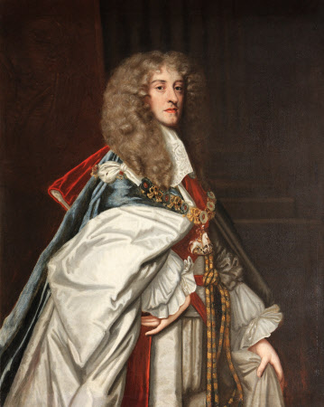 King James II (1633-1701), as Duke of York,  in Garter Robes