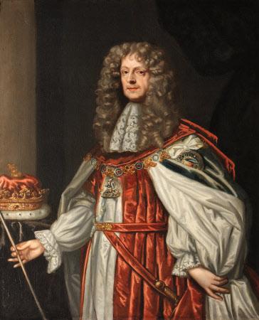 James Butler, 1st Duke of Ormonde (1611-1688), in Garter robes