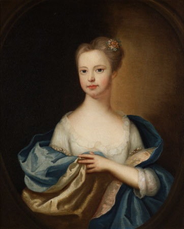 Elizabeth Rushout, Mrs Myddelton (c.1730-1772) as a Girl