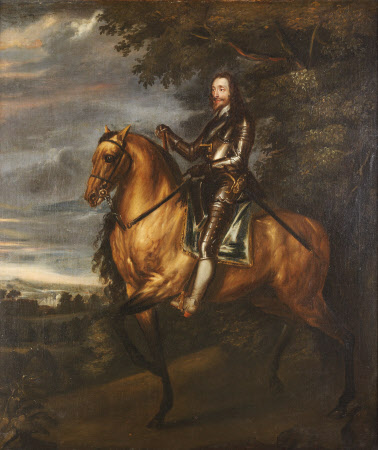 King Charles I on Horseback