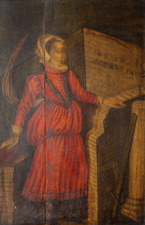 'The Mistress Art' (Personification of Architecture)