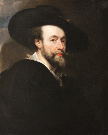 Self-portrait (after Rubens)
