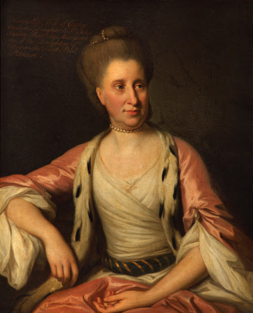 A Noblewoman called Henrietta Shelley, Countess of Onslow (1731-1802) but possibly really Lady ...
