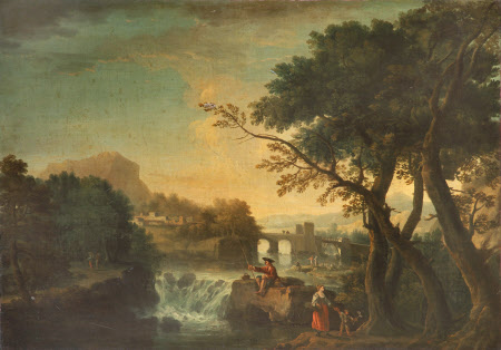 Landscape with an Angler