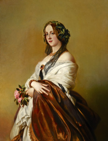 Lady Harriet Elizabeth Georgiana Howard, Duchess of Sutherland (1806 – 1868) (after Franz Xaver ...