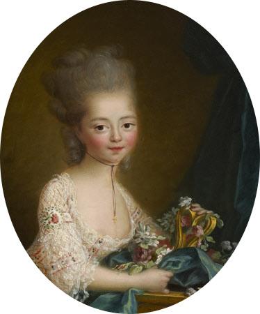 Marie-Joséphine-Louise de Savoie, comtesse de Provence (1753–1810) as a Young Girl