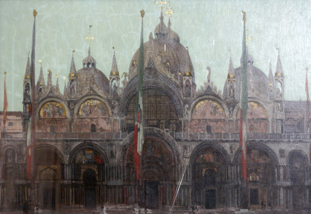 The Façade of St  Mark's, Venice