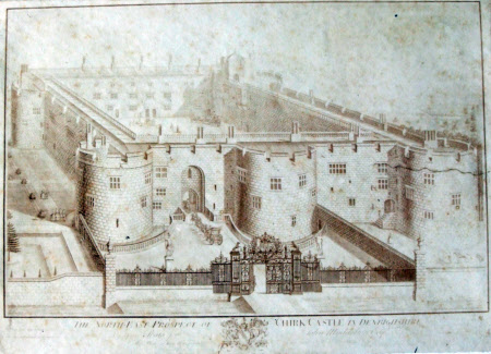 The North East Prospect of Chirk Castle, Denbighshire (after Thomas Badeslade)