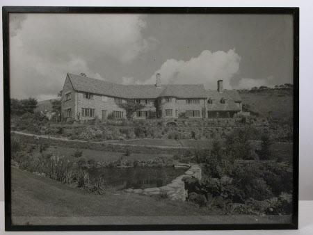 View of south side, Coleton Fishacre, Devon