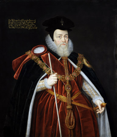 William Cecil, 1st Baron Burghley (1520-1598)