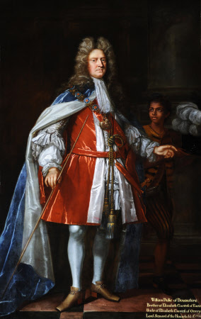 William Cavendish, 1st Duke of Devonshire, 4th Earl of Devonshire, KG, PC, (1640-1707) and an ...