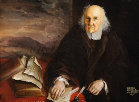 Thomas Hobbes (1588–1679), aged 89