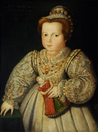 Lady Arabella Stuart, later Duchess of Somerset (1575 – 1615), aged 23 months