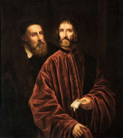 Titian (1488/90-1576) and Andrea de' Franceschi (d.1551), Grand Chancellor of Venice