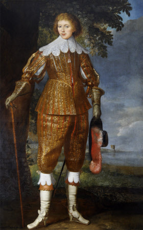 An Unknown Man called Colonel-General Lord Charles Cavendish (1620-1643)