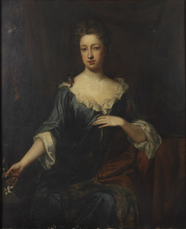 An Unknown Lady, possibly Lady Dorothy Savile, Countess of Burlington and Countess of Cork ...