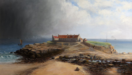 St Mary's Isle, near Whitley; A Storm in the Offing