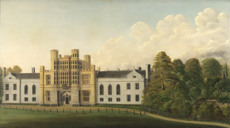 A View of Coughton Court from the West, before 1835