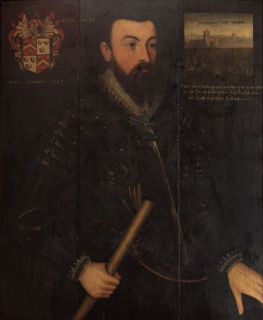 Sir James Wilford (1515-1550) (after Hans Eworth) (after a painting of 1547)