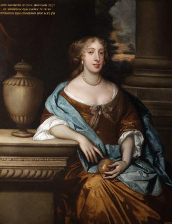 Anne Monson, Lady Throckmorton (d.1728)