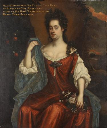 Mary Yate, Lady Throckmorton (d. 1728)