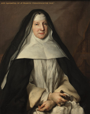 Anne Frances Throckmorton (1664-1734), Prioress of the English Augustinian Convent of ...