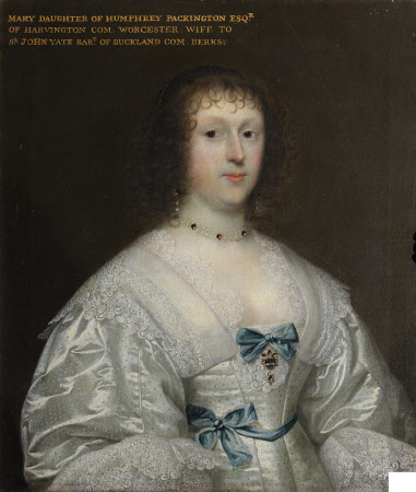 Mary Pakington, Lady Yate (1610/11-1696)