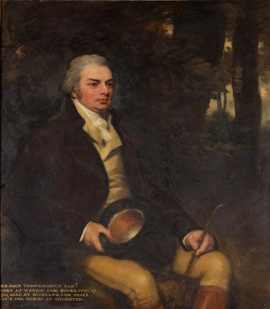 Sir John Throckmorton, 5th Bt (1754-1819)