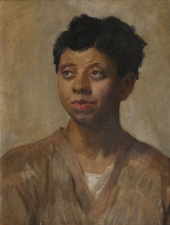 Portrait of a woman, known as 'Mammy Liza'