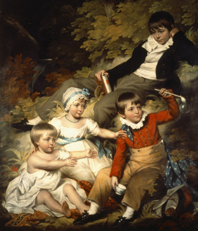 The Four Eldest Children of Sir Richard Croft, 6th Bt (1762–1818)