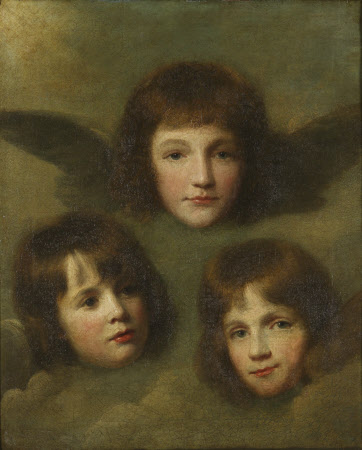 The Three Daughters of The Reverend Sir Herbert Croft, 5th Bt (1751-1816) as Cherubim