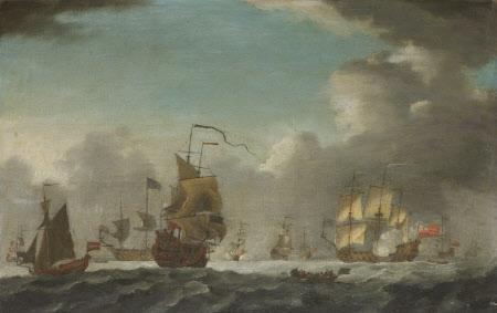 British Men o' War in a Breeze