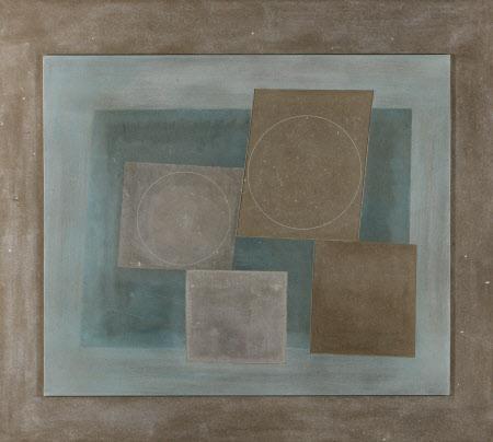 Four Squares, Two Circles