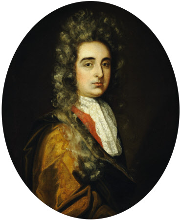 An Unknown Man in a White Lace Cravat