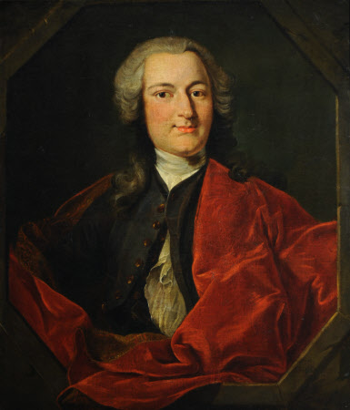 Called Sir Rowland Winn, 4th Bt (1706 - 1765) but probably a Member of the d'Hervart Family