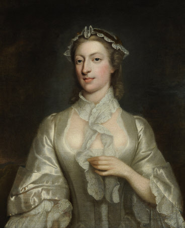 """Called Catherine """"Kitty"""" Raftor Clive (1711 – 1785)"""