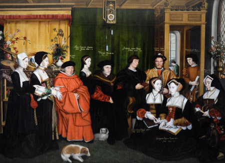 Sir Thomas More and his Family (after Hans Holbein the Younger)