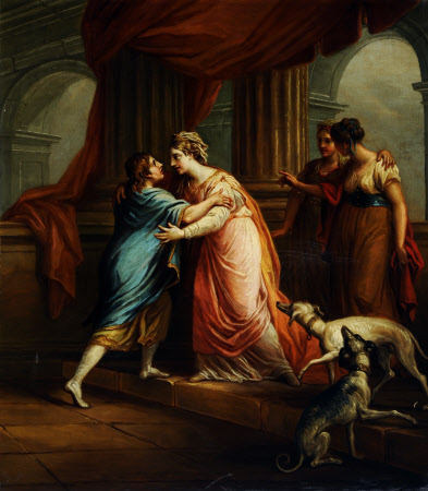 The Return of Telemachus to Penelope