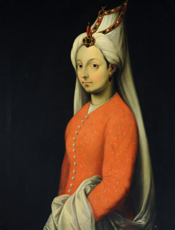 Cameria, or Mihrimah Sultan (1522-1578), daughter of Suleiman the Magnificent