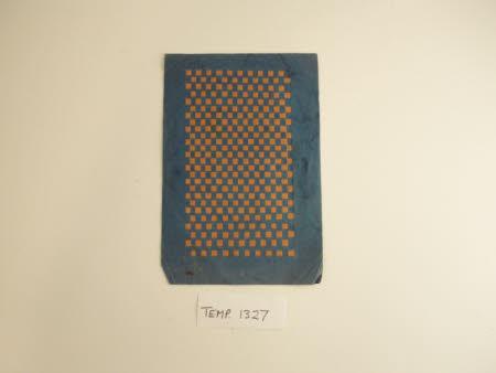 Woven paper sampler