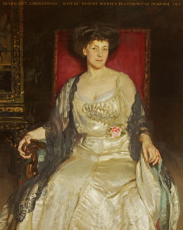 Margaret Ermintrude Chandos-Pole-Gell, Mrs Robert Wynter Blathwayt (1854-1927)
