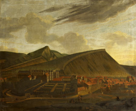 A View of Holyrood Palace