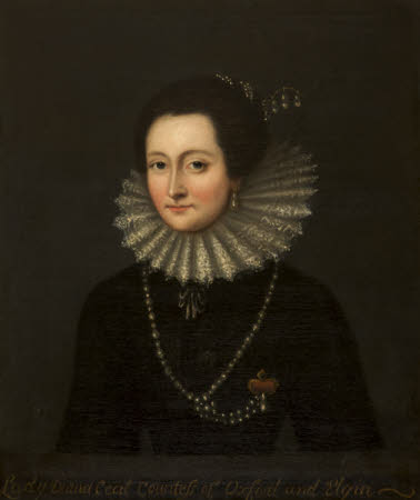 Lady Diana Cecil, Countess of Oxford and Elgin (1596 - 1654)