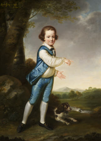 George Harry Grey, 6th Earl of Stamford (1765-1845), as a young boy