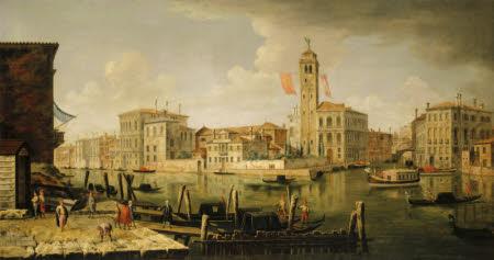 View of the Entrance to the Canareggio, Venice