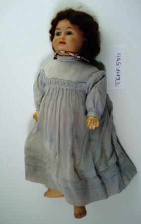 Bisque shoulder-head doll