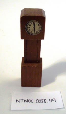 Doll's house clock