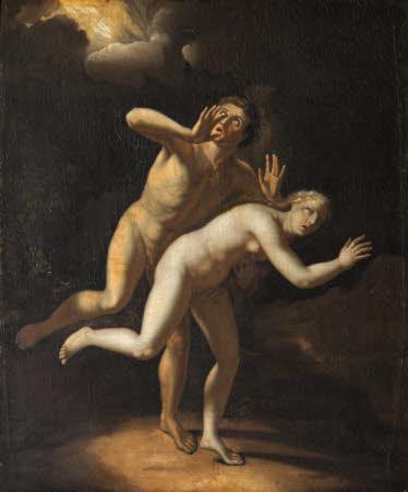 The Expulsion of Adam and Eve (after Adriaen van der Werff)