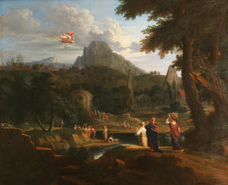A Classical Landscape with Mercury, Herse and Aglauros